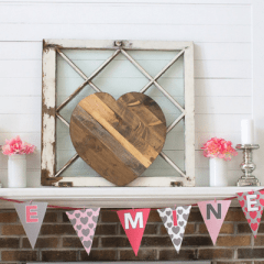 Valentine's Day Free Printables and Rustic Wood Heart Giveaway!