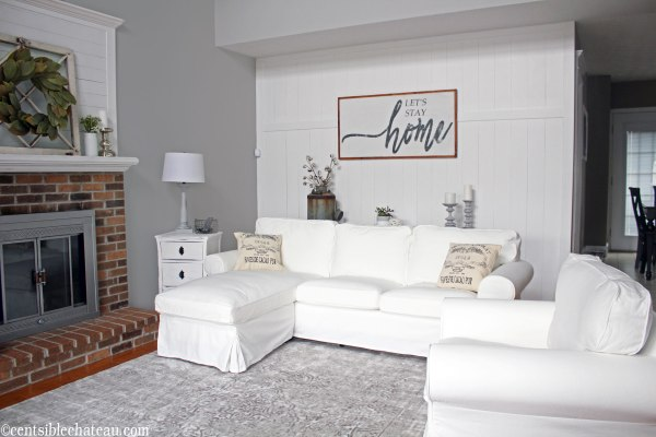 One Room Challenge, Farmhouse Decor | Centsible Chateau Blog
