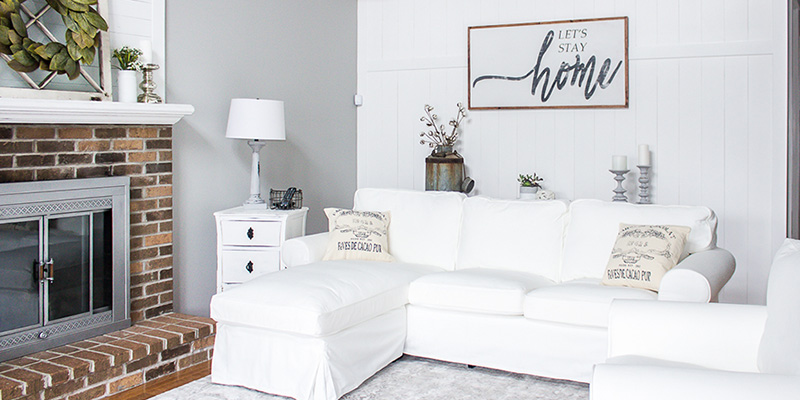 Why Buying a White Ikea Couch and Chair Was a Huge Mistake
