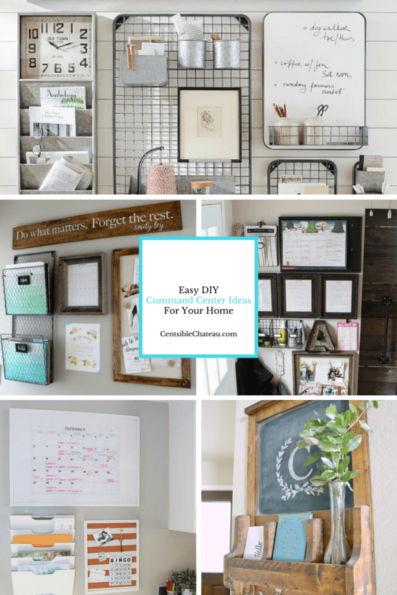 Easy Diy Command Center Ideas For Your Home