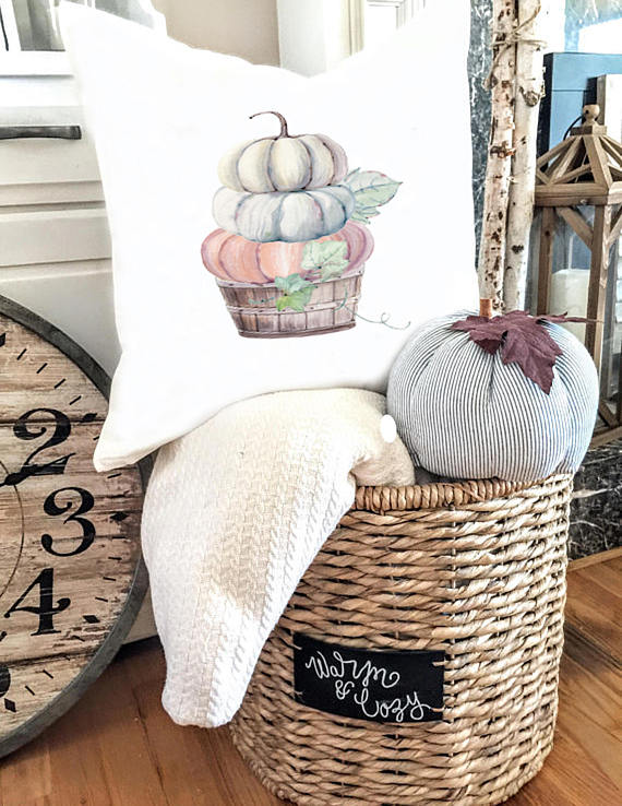 Farmhouse Style Fall Pillows at CentsibleChateau.com