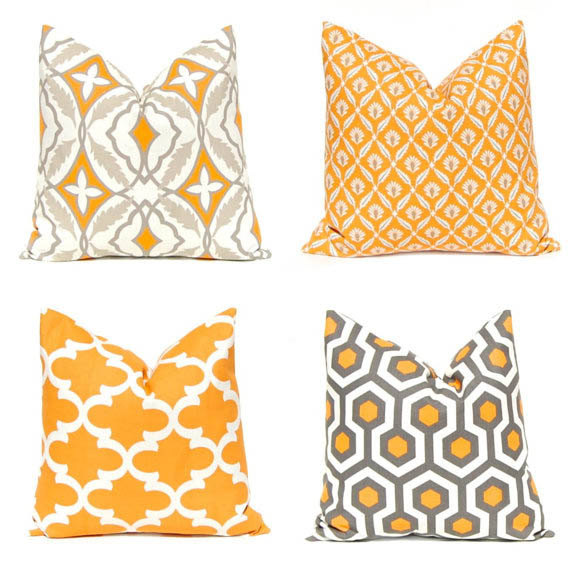 Farmhouse Style Fall Pillows