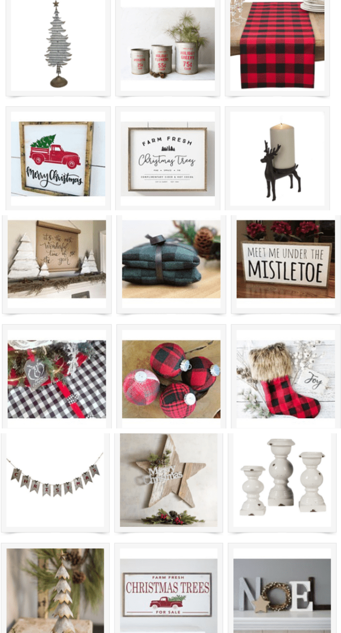 Everything You Need to Create a Farmhouse Christmas!