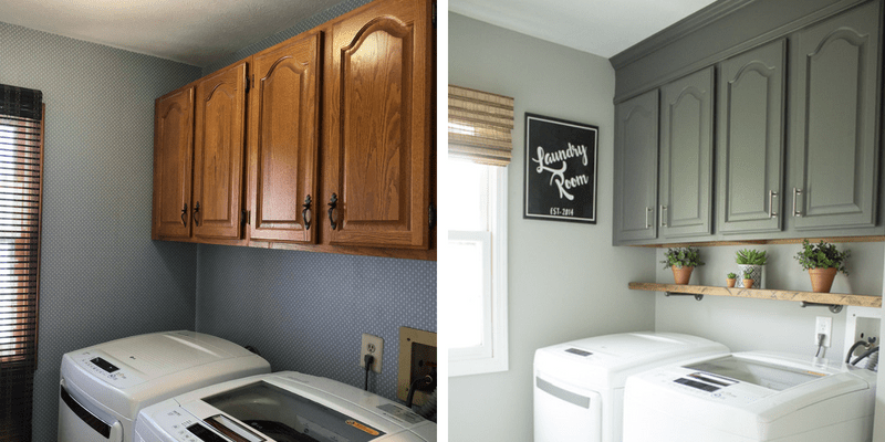 I Love My New Farmhouse Laundry Room (but I Still Hate Laundry)!