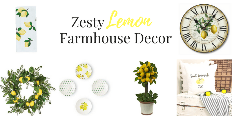 Zesty Farmhouse Lemon Decor