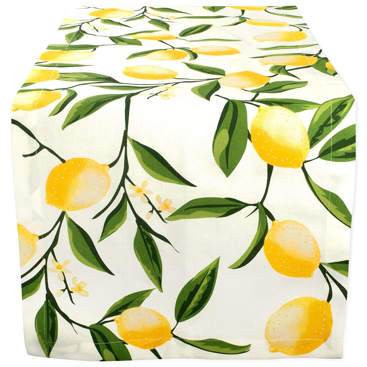 farmhouse lemon decor- lemon table runner