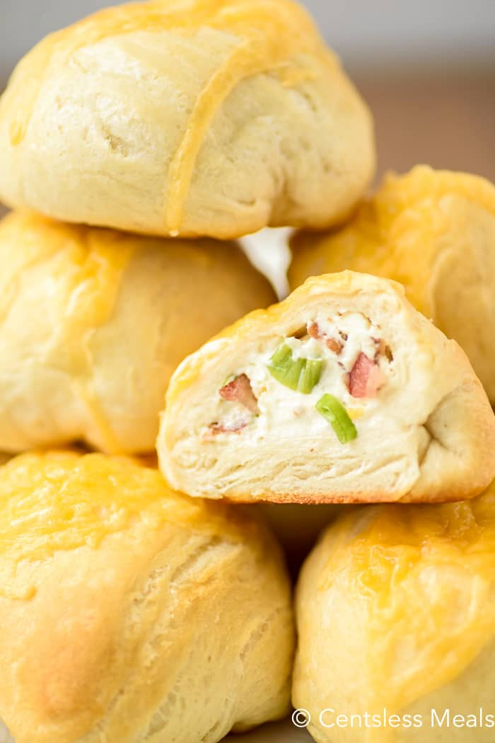 bacon cream cheese biscuits