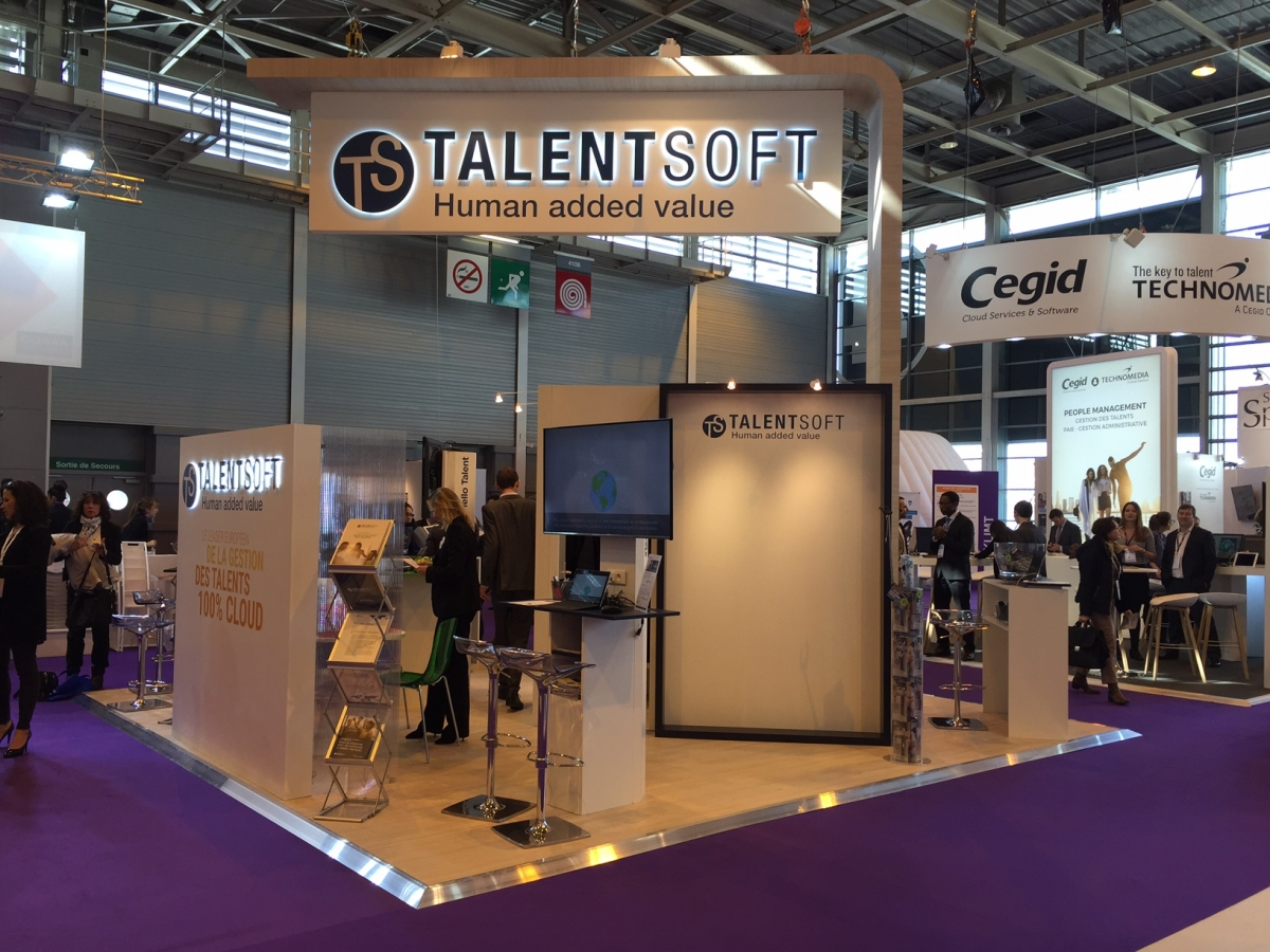 Stand Talentsoft Salon Solutions Ressources Humaines