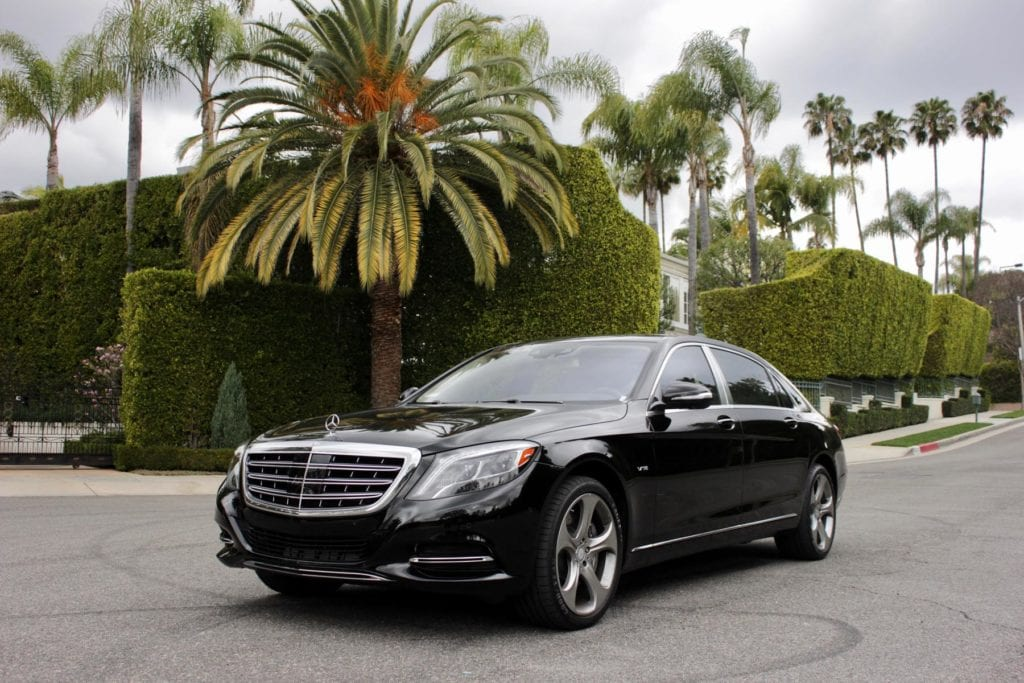 Rent A Mercedes Maybach S600 In Los Angeles Chauffeur Available