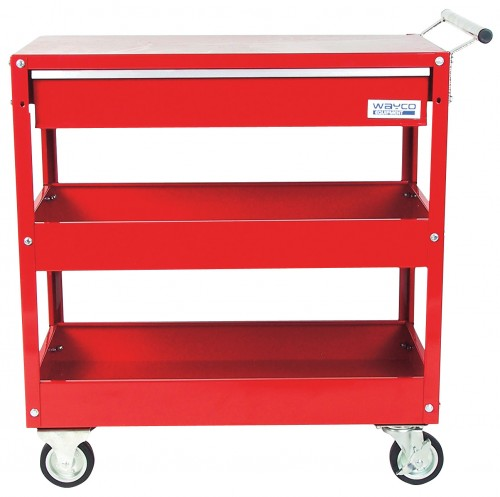 Roller tool cart with drawer
