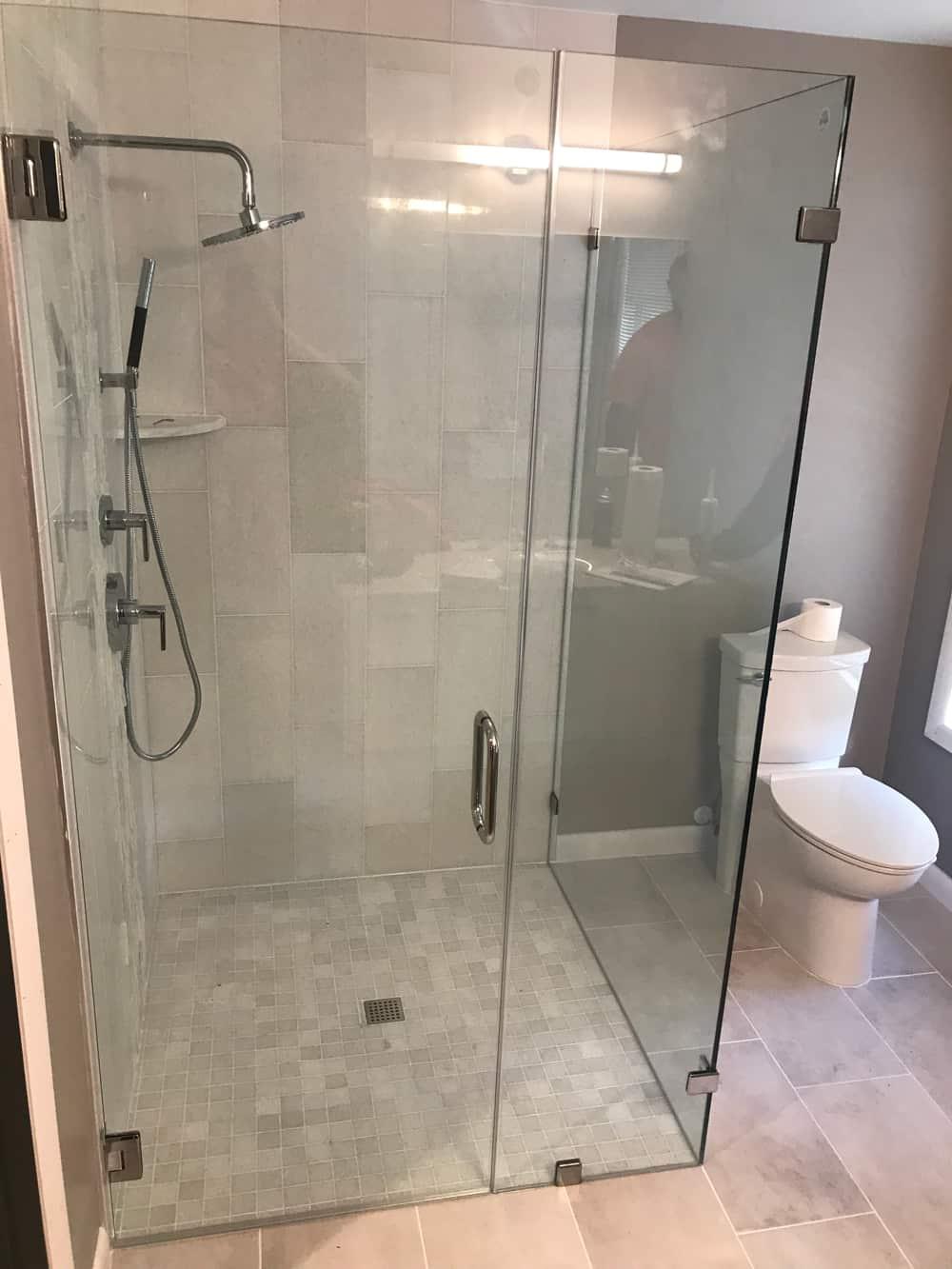 Shower Doors  Frameless SemiFrameless  Custom Glass