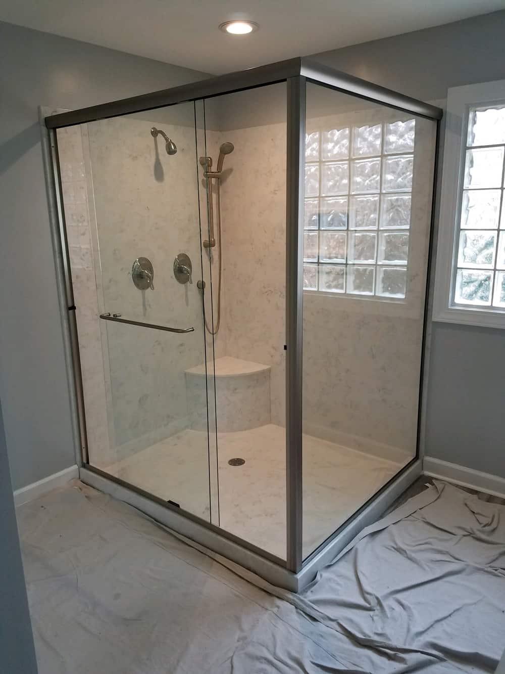 Custom Shower Doors Made Installed Century Glass