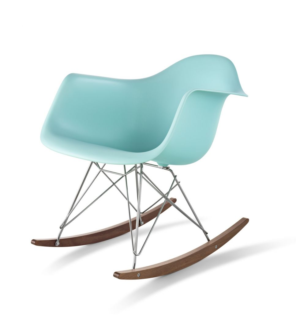 american plastic toys custom kitchen white leather chairs hermanmiller® eames® rocker - the century house ...