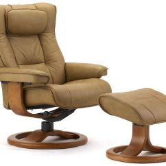 American Leather Swing Chair 15 Inch Round Bistro Cushions Fjords Regent Recliner And Ottoman The Century House