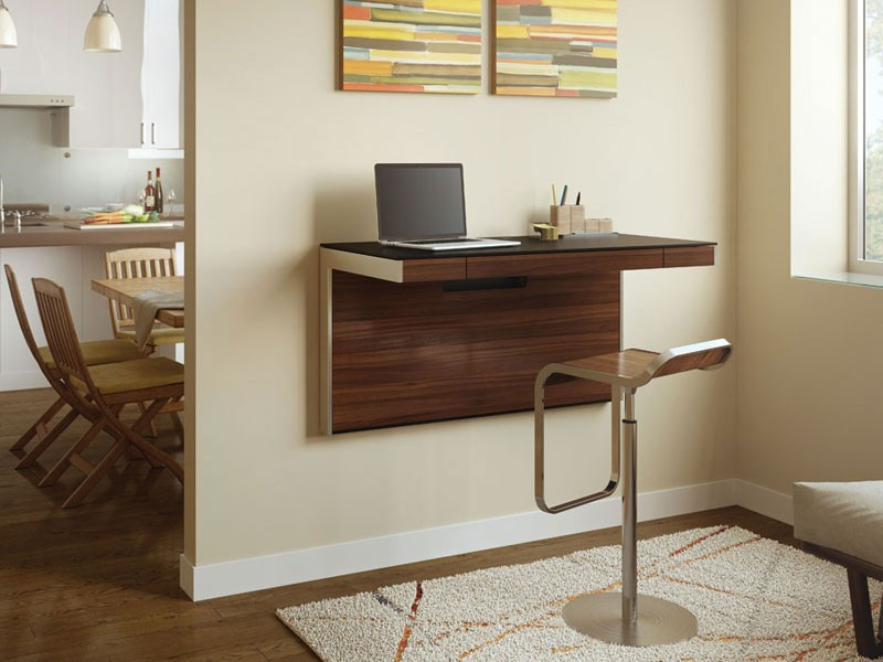 BDI Sequel 6004 Wall Desk  The Century House  Madison WI