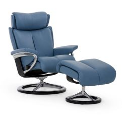 Stressless Chair Sale Low Back Lawn Magic And Ottoman Signature Base The