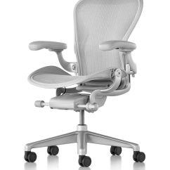 White Aeron Chair Eddie Bauer High Replacement Pad Herman Miller 2016 The Century House