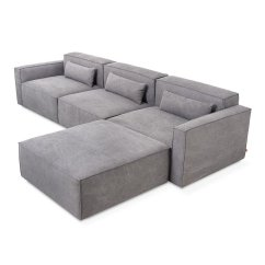 Small Modular Sofa Sectionals Slipcover For Bed Bath And Beyond Gus Mix Sectional 4 Pieces The Century House