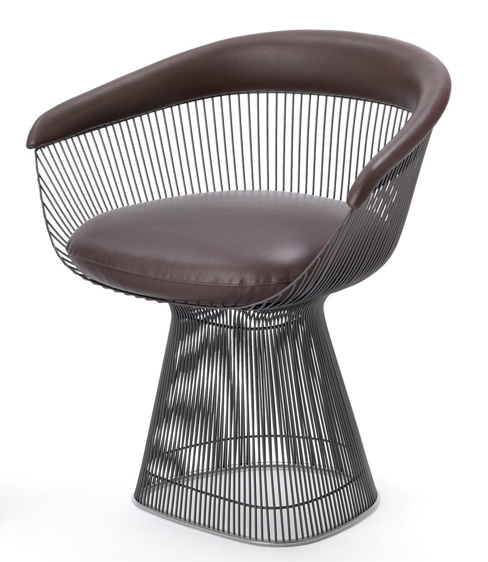 Platner Arm Chair by Knoll  The Century House  Madison WI