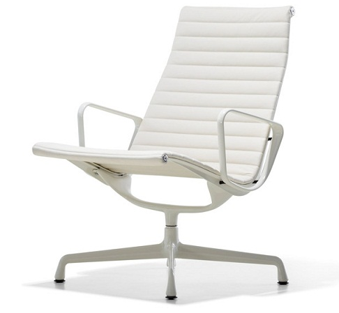 eames chair white dunelm tub covers hermanmiller aluminum group lounge the century house