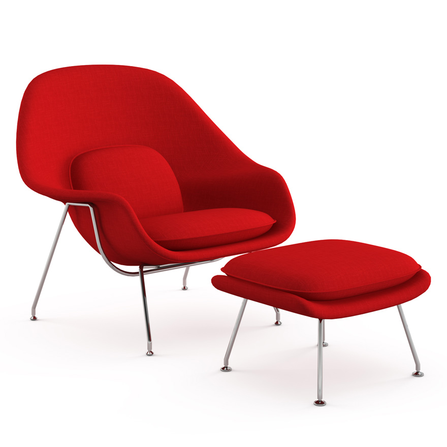 Womb Chair by Knoll  The Century House  Madison WI