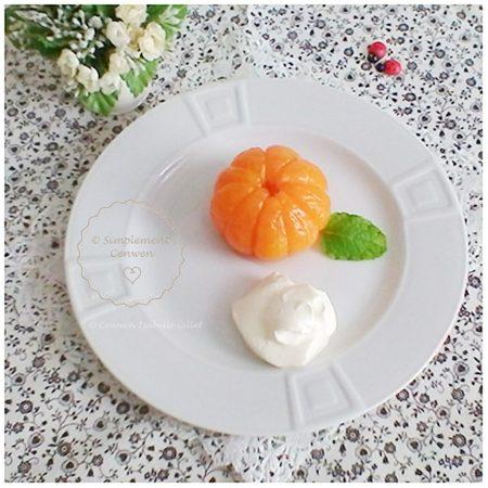 Desserts pour menus de Fêtes Petit Budget, Clémentines caramélisées