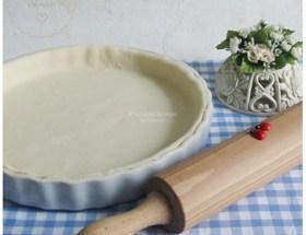 Pâte feuilletée aux petits suisses, pâte à tarte feuilletée rapide