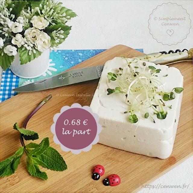 Fromage végétal aux noix de cajou ~ Recette de base, facile et gourmande. Comment faire du fromage végétal aux noix de cajou. Sain, gourmand et économique.