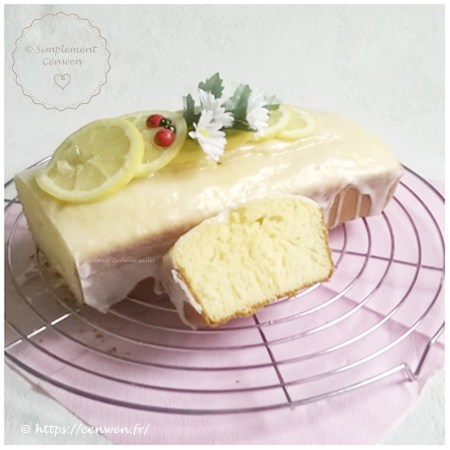 Cake léger au citron