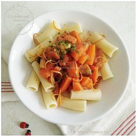 Blog de recettes économiques et fins de mois difficiles : carottes cuisinées comme un osso bucco