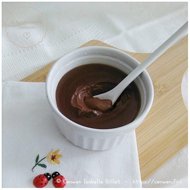 Crème dessert végétale au chocolat