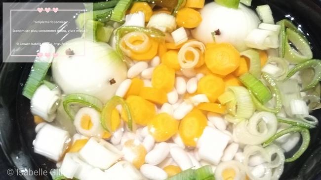 La cuisson des légumes secs à la mijoteuse