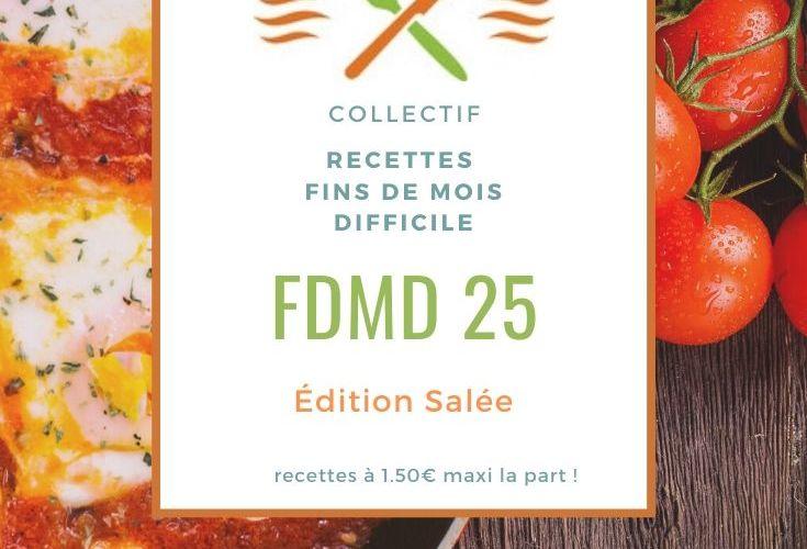 Recettes Fins de Mois Difficile : #FDMD édition 25