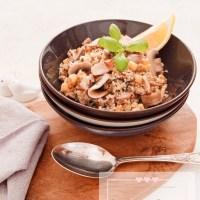 Quinoa aux champignons