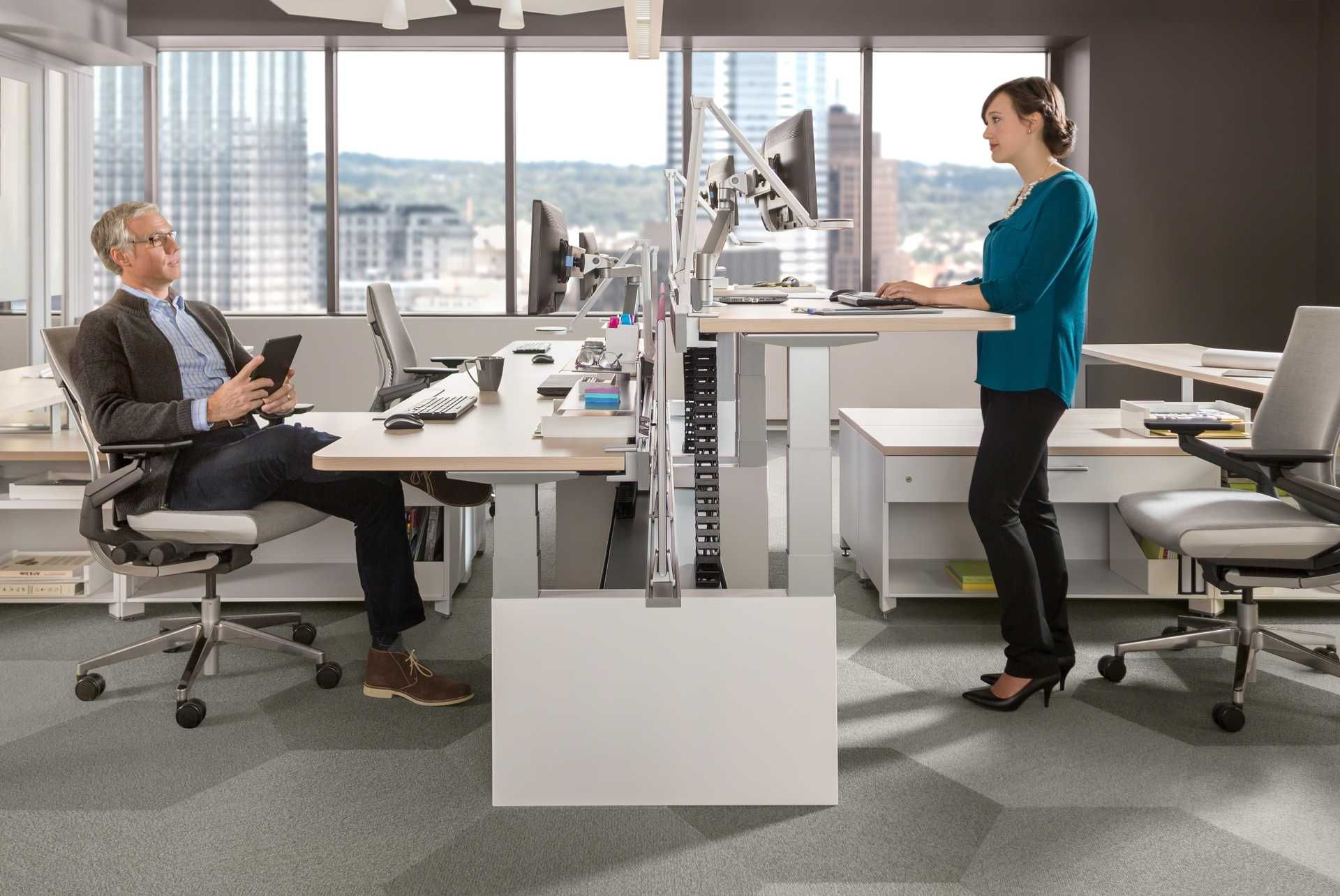 Standing Chairs Standing Desks Put Health First But Will They Catch On