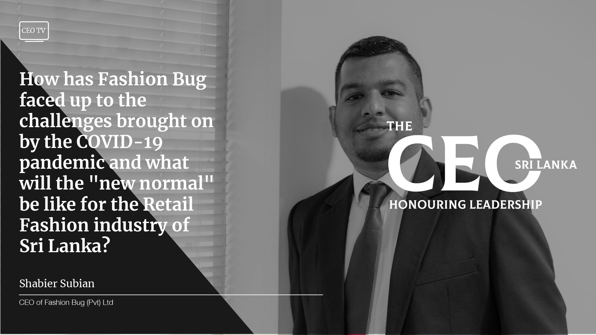 An Interview with Shabier Subian, CEO of Fashion Bug
