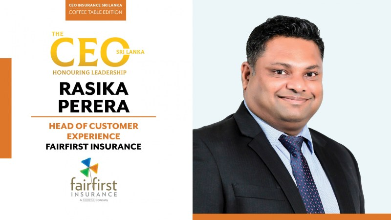 Driven by Fairness and Fuelled by Sensible Optimism – Head of Customer Experience at Fairfirst Insurance, Rasika Perera