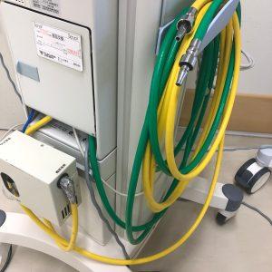 酸素配管,空気配管,人工呼吸器
