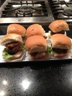 Meatball Sliders - I couldn't have these but they seemed quite popular