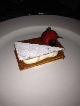 Napoleon - my favourite dessert that I sampled