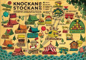 Knockanstockan map