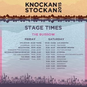 Knockanstockan stage times one