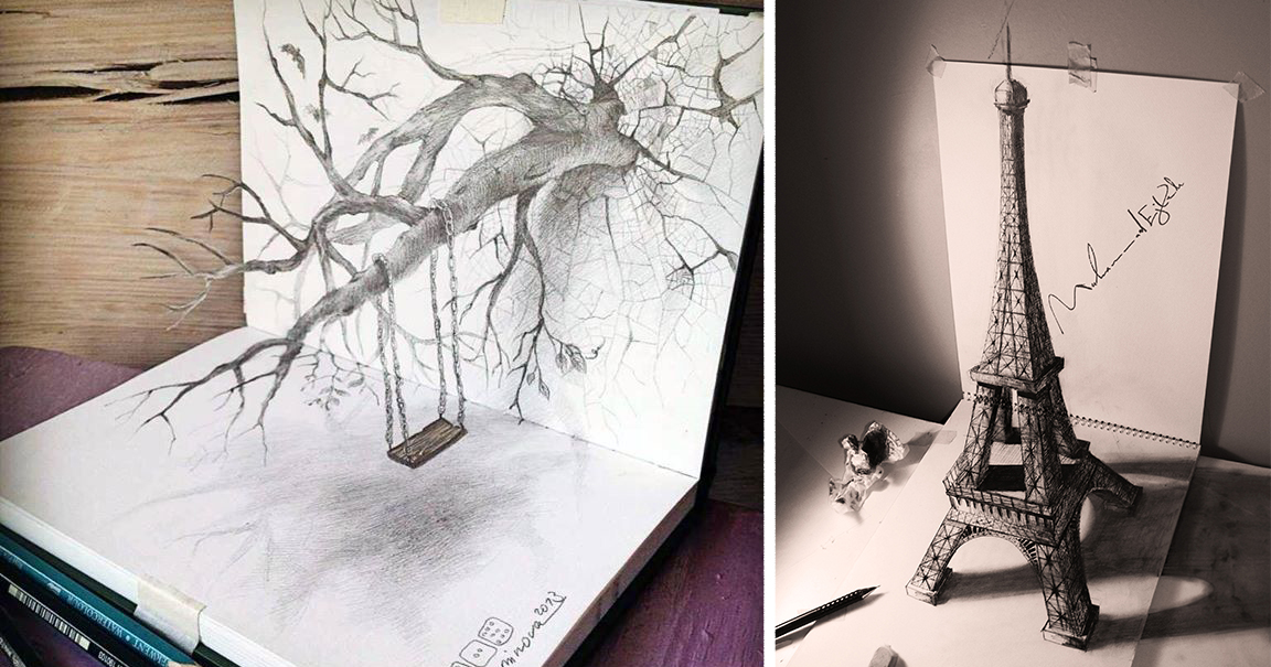 33 Of The Best 3D Pencil Drawings  CE Outlet  www