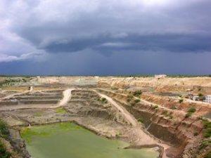 mine pit in Tanzania