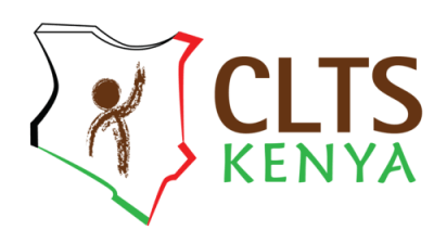 CLTS kenya