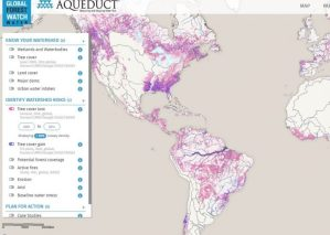 WRI Global Forest Watch Water