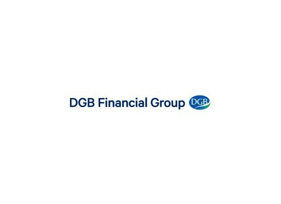 dgb financial group communication on progress