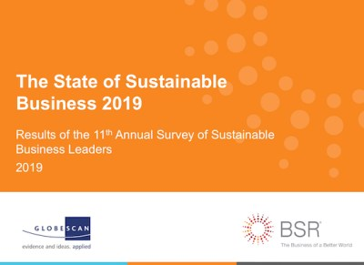 State of Sustainable Business 2019