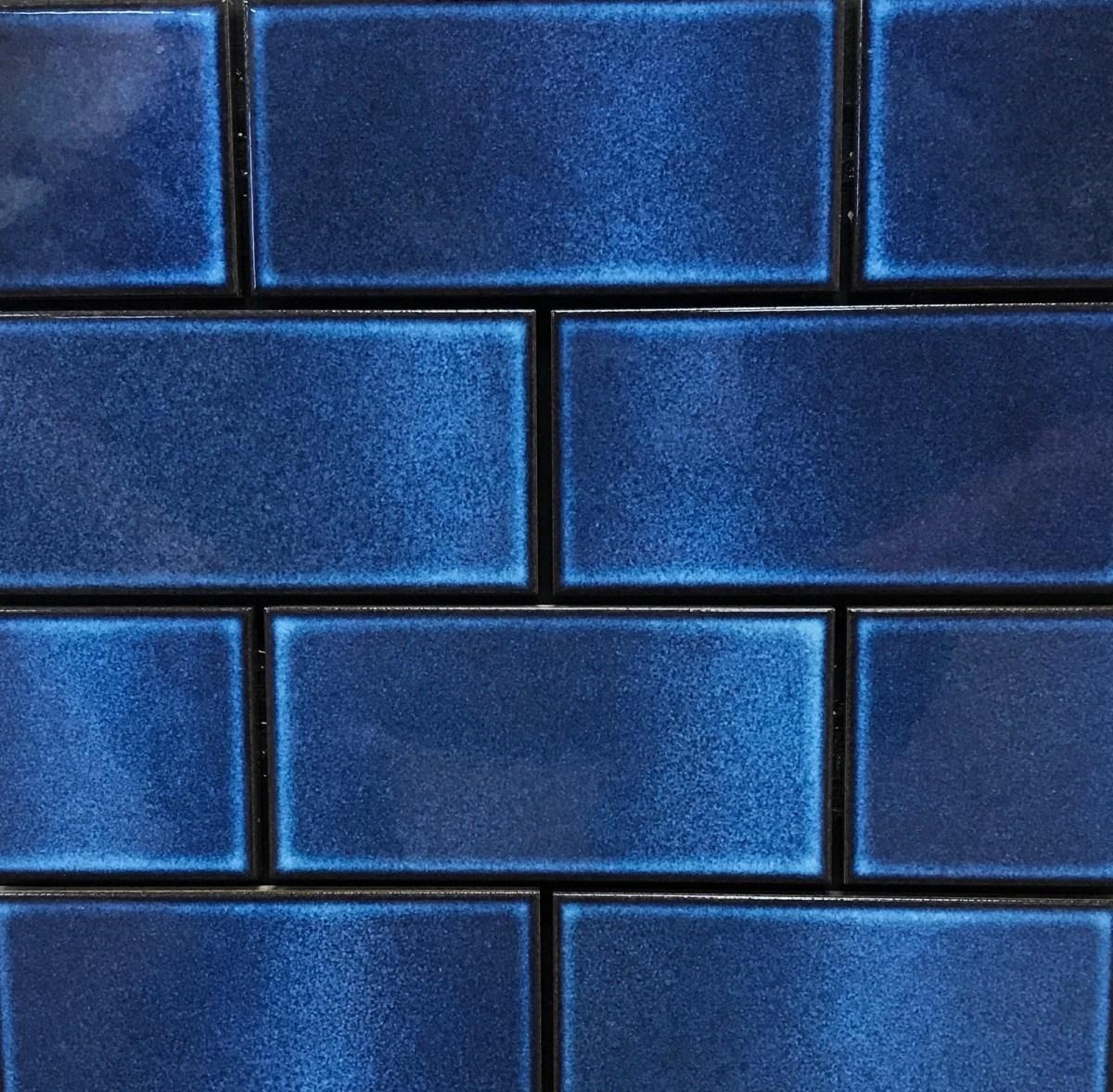 Continental Subway Cos 9 Royal Blue Cepac Tile
