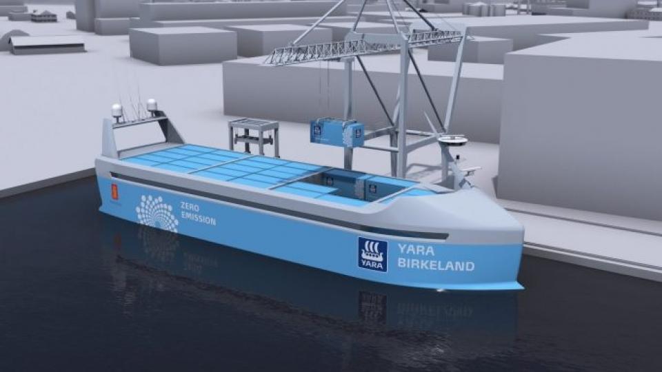 El primer buque sin tripulación navegará desde 2018